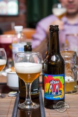 Дегустация пива Urban MoMo из Чернигова