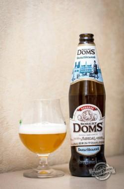 Дегустация пива Robert Doms Бельгійський