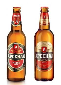 Новый вкус пива Арсенал Міцне