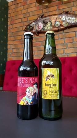 Honey Corn Cream Ale и кальяны в Edison