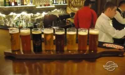 Дегустация пива от ровенского Канта