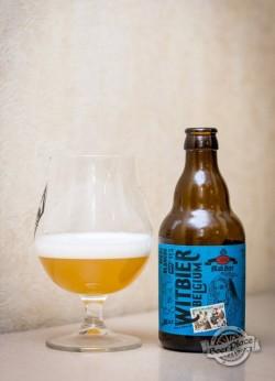 Дегустация пива MakBeer Witbier Belguim