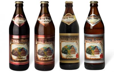 Акция на немецкое пиво Krug-Bräu в Сильпо