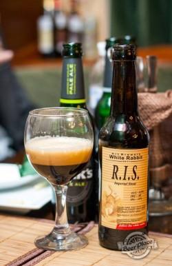Дегустация пива R.I.S. от White Rabbit