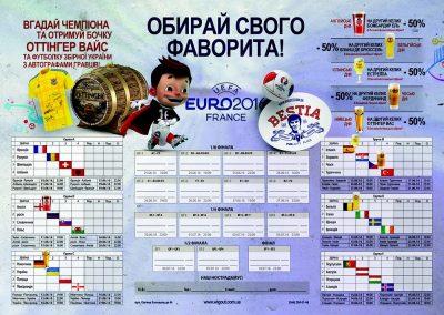 Чемпионат Европы и скидка на пиво в BESTia