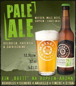 Maisel & Friends Pale Ale - немецкая новинка в Украине