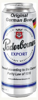 Paderborner Export - немецкая новинка в Украине