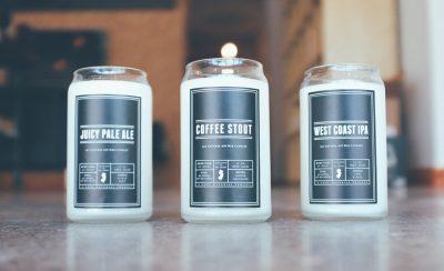 Свечи с ароматом пива