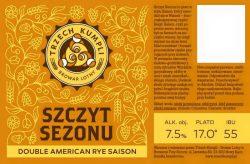 Szczyt Sezonu - новый сорт польского крафтового пива в Украине