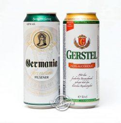 Gerstel Alkoholfrei и Germania Premium Pilsener - собственный импорт от VARUS