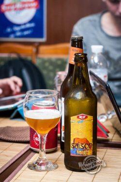 Дегустация пива Saison от K&F