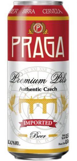 Новый сорт Praga Premium Pils в банках?