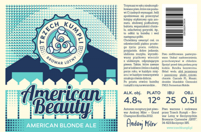 American Beauty - новый сорт польского крафта в CRAFT vs PUB