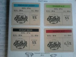 Father - новая мини-пивоварня в Ровно