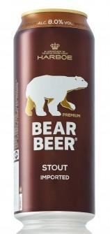 Bear Beer Dark Wheat и Bear Beer Stout- новинки от Harboe в Украине