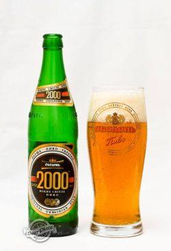 Дегустация пива Оболонь 2000
