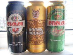 Obolon 6,8 Extra и Horns&Hooves - экспортные новинки от Оболони