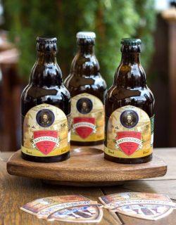 Бутылочное пиво Burgomistr