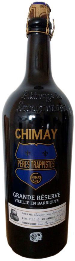 Траппистское пиво Chimay Grande Réserve Vieille en Barriques в Украине