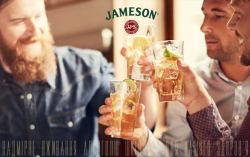 Акция от Jameson в Andrew's Irish Pub
