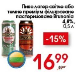 Акция на BRUNONIA в Novus