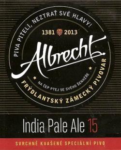 Albrecht India Pale Ale 15 и Cream ALE - новинки в Мохнатом хмеле