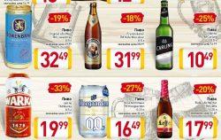 Акции на пиво в Billa