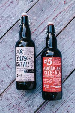 #8 Easy Pale Ale — новое фирменное пиво от Goodwine