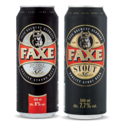 Акция на датское пиво FAXE в Сильпо