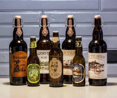 Новое литовское бутылочное пиво и Australia IPA в OLD BAR