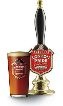 Fuller's London Pride и Harbuzz в OLD BAR