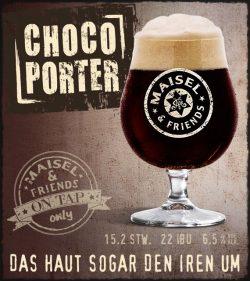 Choco Porter и India Ale от Maisel & Friends в Украине