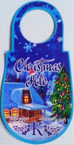 Christmas Ale - новый сорт от мини-пивоварни Karavan