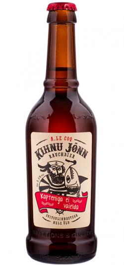 KIHNU JÕNN - эстонское копченое пиво в Украине