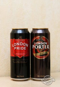 Баночные London Pride и London Porter по приятной цене в Украине
