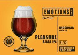 Pleasure Black IPA - первый сорт новой серии EMOTIONS из Днепра