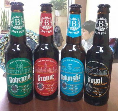 Ребрендинг и новые сорта от пивоварни Волинський бровар