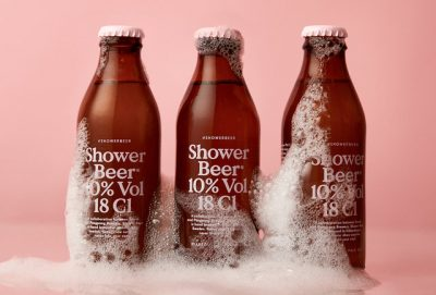 Shower Beer - пиво для душа из Швеции