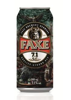 FAXE 7.1 - новый сорт датского пива в Сильпо
