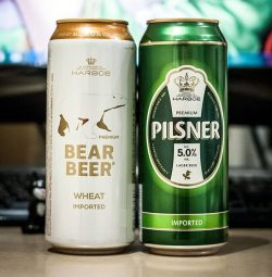 Harboe Pilsner - новый сорт баночного пива в Украине