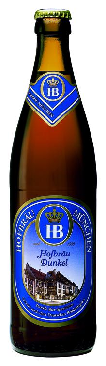 Бутылочный Hofbräu Dunkel в Украине