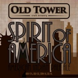 Spirit of America IPA, Naked Pug и Royal Wit в OLD BAR