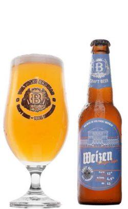 Weizen Lager от пивоварни Волинський бровар в стекле