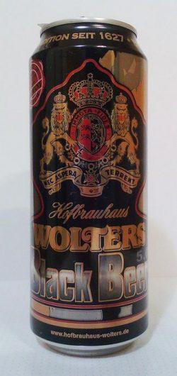Wolters Black Beer - псевдоновый сорт от Hofbrauhaus Wolters в Украине