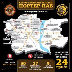 Тридцать Портеров и 9 пивоварен в Киеве...