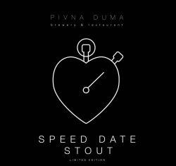 Speed Date Stout — новый сезонный сорт от Пивной думы