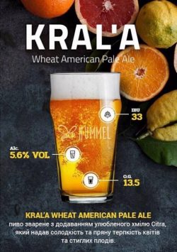 Kralya и Rolling Stone - новые сорта в VIDRO Craft Beer & Kitchen