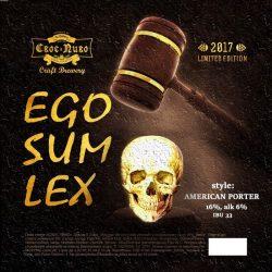 EGO SUM LEX - новый сорт от To Dublin