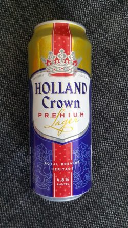 Holland Crown Premium Lager - австрийская новинка в Украине