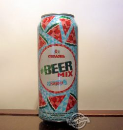 BeerMix Кавун - новый бирмикс от Оболони
